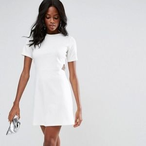 ASOS Skater Dress with Cut Outs NWT